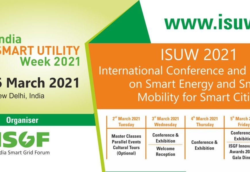 India Smart Utility Week 2021