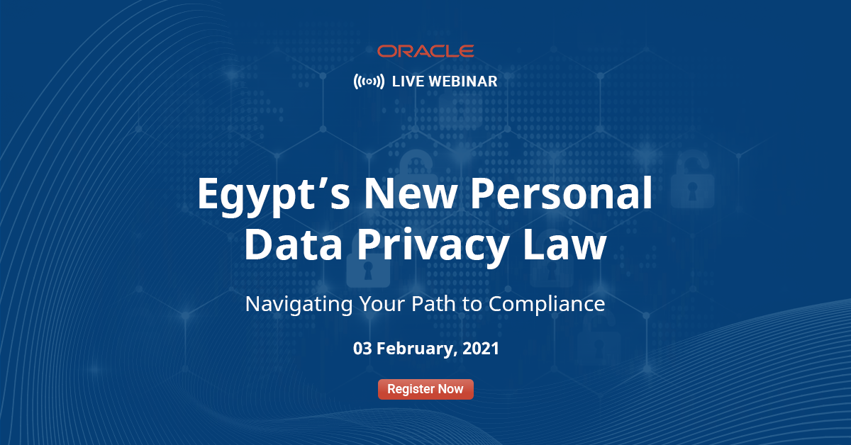 Egypt New Personal Data Privacy Law - Navigating Your Path to Compliance