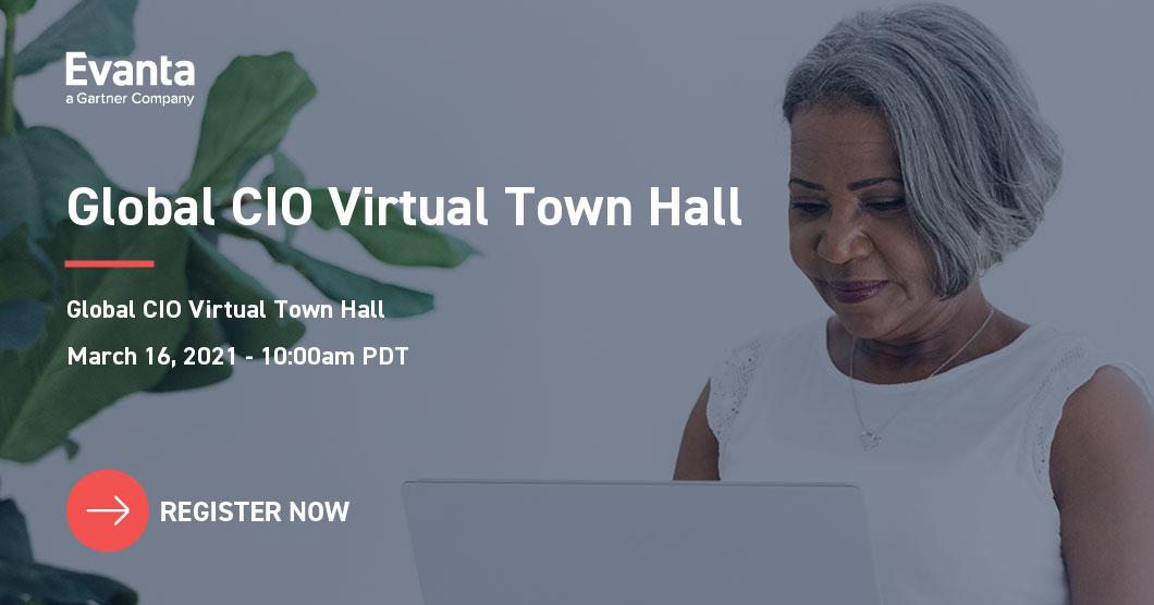 Evanta global CIO virtual town hall